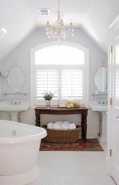 I LOVE this bathroom!!!! :)