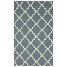 I pinned this Marrakech Indoor/Outdoor Rug in Light Blue from the Seeing a Pattern event at Joss and Main!