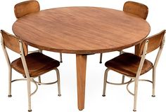 Heywood Wakefield School Table & 4 Chairs - not a bad price...
