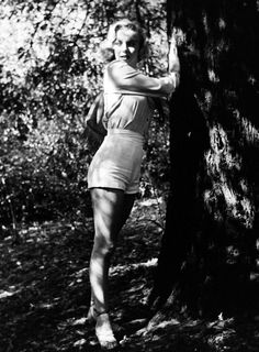 Marilyn Monroe in Griffith Park, Los Angeles. Photo by Ed Clark, 1950.