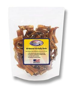 2 Pounds Bully Bites Premium All Natural Dog Treats by Shadow River  Product of the USA * Visit the image link more details.