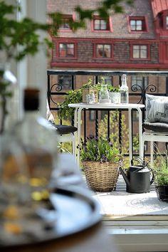 Apartamento com terraço