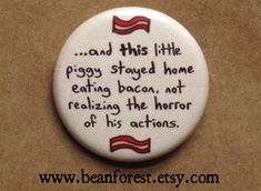 and THIS little piggy stayed home eating bacon not by beanforest