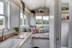 The Nugget, a 12 ft. tiny house on wheels by Modern Tiny Living .... #tinyhouse #tinyhome #tinyhousemovement #moderntinyliving #kokosing #tinyhouseliving #tinyhouses #tinyhousenation #hgtv #tinyhouseonwheels #tinyhousedesign #livetiny #tinyliving #tinyhousebigliving #diy #rv #cabin #tinyhousebuilder #smallspaces #architecture #contemporary #modern #minimalist  #modernliving #modernluxury #sustainable #sustainableliving #cabinlife