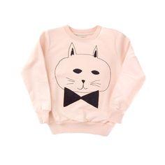 Sweat shirt Round Neck - Cat