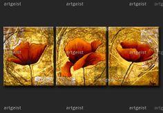 Cuadros de flores en lienzo - pintura moderna | artgeist