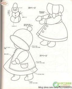 Sunbonnett Sue, куколки Сью ~ Для вдохновения