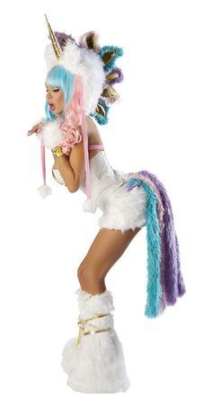 Furry Unicorn Costume - SO CUTE