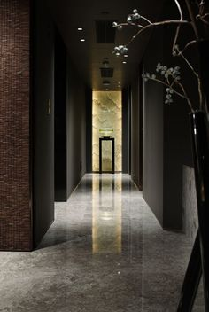 Get Award Winning Design Ideas in Seconds Lobby Interior, Interior Exterior, Modern Interior, Interior Architecture, Interior Design, Lobby Design, Wall Design, House Design, Hotel Corridor
