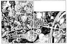 jack kirby pencils | Jack Kirby - Comic Artist and Writer.