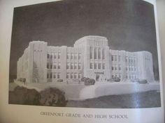 1933 Dedication Ceremonies for new Greenport High School-6