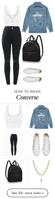 """""""Untitled #115"""" by aliinnnaaa on Polyvore featuring Être Cécile, Converse and Luv Aj"""