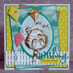 Created by Debby for the Simon Says Stamp Wednesday challenge (Things that Fly)