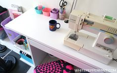 White Peppermint: Craft Corner Update: foto profilo, shopper/mini bags, gita all'IKEA e nuovi eBook