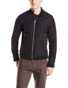 Diesel Men's J-Eiko Jacket,  Black, Medium