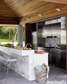 Basic Kitchen Area Concepts For Inside or Outside Kitchen areas – Outdoor Kitchen Designs Basic Kitchen, Kitchen On A Budget, Dirty Kitchen, Küchen Design, Layout Design, Design Ideas, Oven Design, Site Design, Parrilla Exterior