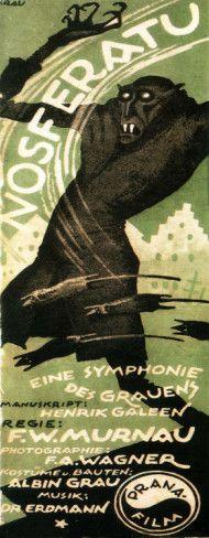 Nosferatu, a Symphony of Horror - German Style Poster