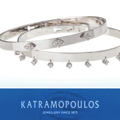 White gold bracelets for myhydraboutique and sophiadelachouvel at the Monaco yacht club