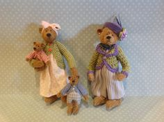Bear family by Paulette Svec.