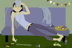 Had a bit too much fun in your 20s? A misspent youth doesn't doom you to heart disease.