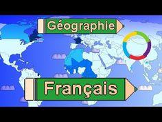 La langue française dans le monde. Dans quels pays parle-t-on français ? - YouTube France, Comic Books, Comics, Cover, Language, Recipes, Cartoons, Cartoons, Comic