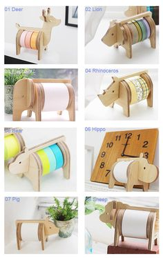 Safari tape holder 8 Types Select One by verryberrysticker on Etsy