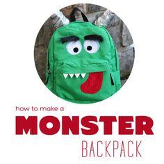 A Monster Backpack
