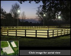 Riding Arena Ideas On Pinterest Round Pen Sports And Rings