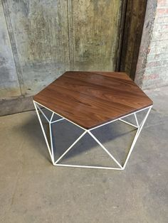 These coffee tables are made to order and are hand crafted from
