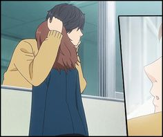 Ao Haru Ride There is a random guy in the manga that was omitted from the anime! Wow