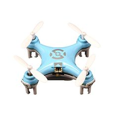 6axis design3level adjustable speed flip functionFlight time will be up to 48 minutes Cheerson Cx10 Mini 24g 4ch 6 Axis LED Rc Quadcopter Airplane Blue