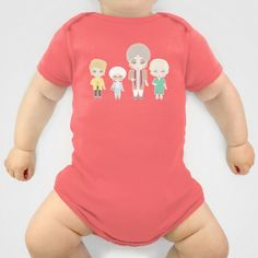 Golden Girls Onesie by Ricky Kwong - $20.00