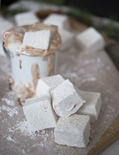 Eggnog Marshmallows @themerrythought