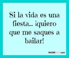 #Frase #bailar
