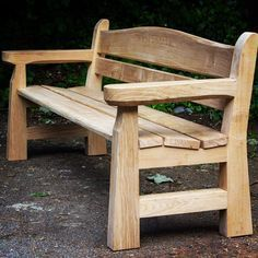 Memorial bench just delivered. New seat design, very comfortable. Client over the moon.