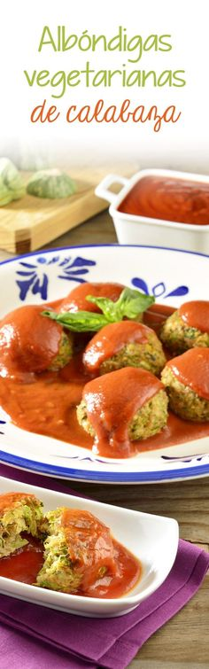 Si te gustan mucho las albóndigas, solo que no quieres comer carne, te presentamos una excelente alternativa, son las ricas albóndigas vegetarianas de calabaza. Es un platillo muy sabroso y sencillo de preparar.