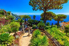 Villa Rufolo, Amalfi Coast, Italy jigsaw puzzle in Great Sightings puzzles on…