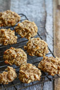 These look delicious - Soft Baked Banana Breakfast Cookies - Eat Live Run