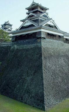 KUMAMOTO Castle in Kumamoto Japan