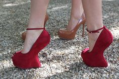 These are my fave heels and very easy to walk in.