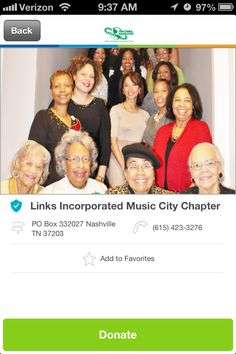 Links Incorporated Music City Chapter in Nashville, Tennessee #GivelifyNonprofits