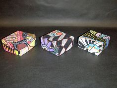 Zentangle Boxes