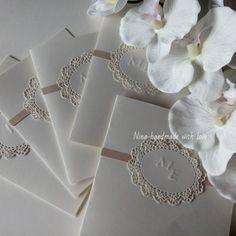 Wedding invitations handmade Tel. 3923580276 Follow us on facebook