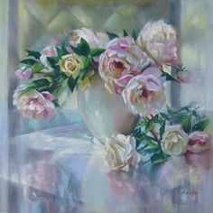 Blush and Happenstance by Mary Aslin was awarded Outstanding Pastel in the September 2014 BoldBrush Painting Competition.