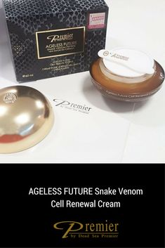 AGELESS FUTURE Snake Venom Cell Renewal Cream, a partir de los 50 años esta es tu crema. con @PremierESP #antiedad #antiaging #cream Snake Venom, The Prestige, Anti Aging Skin Care, Cream