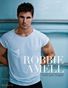 Exclusive - Robbie Amell on The Duff, The Flash and Playing a Marine! http://www.glamoholic.com/31/30.html