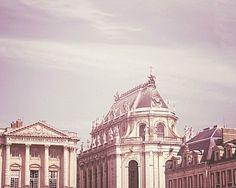 Paris Lavender - 8x10 Versailles Photo - Majestic, Elegant - Purple, Neutral, Architecture - Castle, Chateau, Palace - French, Romantic