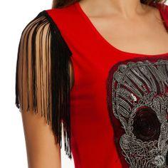 Paper faces kadın tişört, kırmızı, kuru kafa, püskül detaylı ürünü, özellikleri ve en uygun fiyatları n11.com'da! Paper faces kadın tişört, kırmızı, kuru kafa, püskül detaylı, t-shirt kategorisinde! 18178322