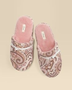 "Soma Intimates Scuff Slipper Charisma Boudoir Pink #somaintimates ""My Soma Wish List Sweeps"""