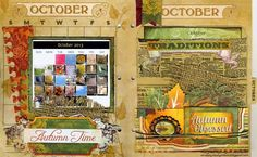 Lynn Shokoples is playing with her Misc. Me binder again! This month she is using the Autumn Song collection. #BoBunny, @LynnShokoples